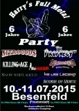 6 Jahre / Harry´s Full Metal Party